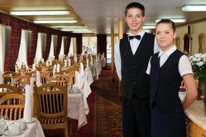 MS Dnepr Princess Restaurant